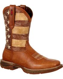 Durango Men's Faded Union Flag Western Boots, , hi-res