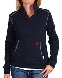 Ariat Women's Flame Resistant Polartec Fleece Sweatshirt, , hi-res