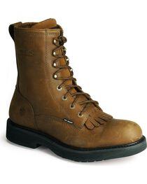 """Wolverine Men's Ingham 8"""" Kiltie Durashocks Work Boots, , hi-res"""