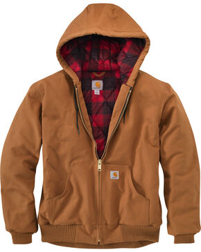 Carhartt Men's Pecan Brown Huntsman Active Jacket, Pecan, hi-res