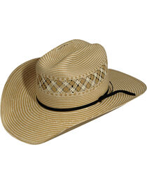 Eddy Bros. by Bailey Cogburn Straw Cowboy Hat, , hi-res