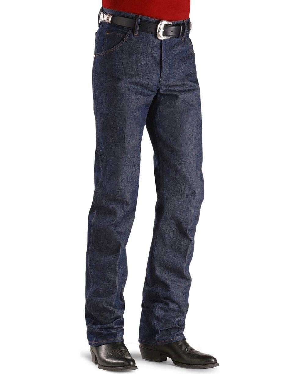 Wrangler 47MWZ Premium Performance Cowboy Cut Rigid Regular Fit Jeans, Indigo, hi-res