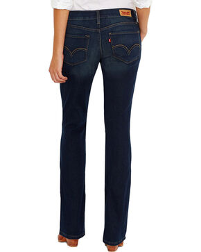 Levi's Women's 524 Boot Cut Jeans, Blue, hi-res