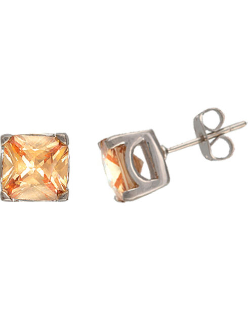 Montana Silversmiths River Lights at Sunset Stud Earrings, Silver, hi-res