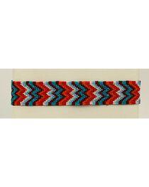 Blazin Roxx Chevron Beaded Headband, , hi-res