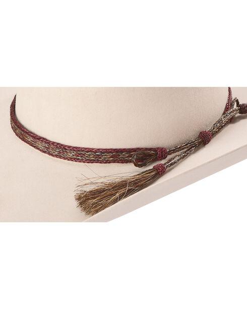 Colorado Horsehair Braided Hat Band, No Color, hi-res