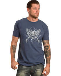 Cody James® Men's Eagle and Pistol Graphic Tee, , hi-res