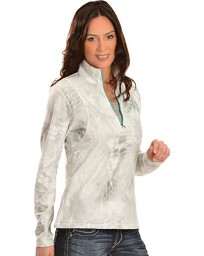 Ariat Women's Kryptek Yeti - Zip Jacket, White, hi-res