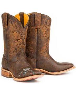 Tin Haul Men's Mudflap Too Western Boots, Brown, hi-res