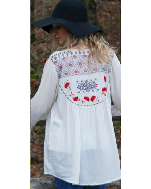 Tasha Polizzi Women's Meadow Shirt, Ivory, hi-res
