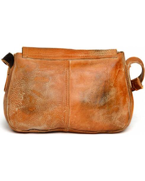 Bed Stu Women's Eastend Tan Fringe Shoulder Bag, Tan, hi-res