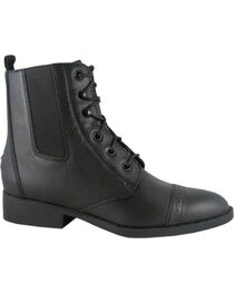 Smoky Mountain Women's Leather Paddock Boots, , hi-res