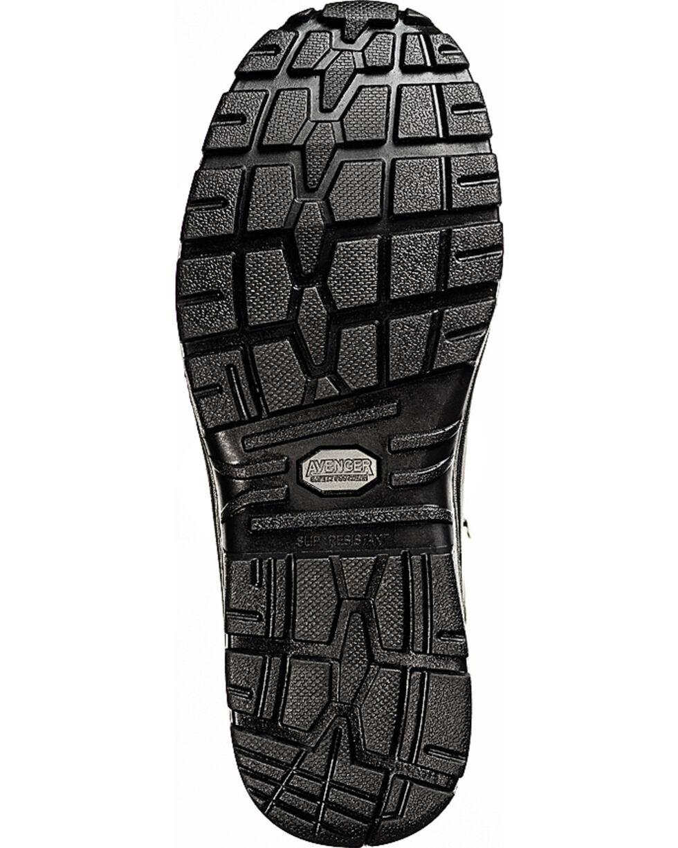 Avenger Men's Waterproof Steel Toe Hikers, Black, hi-res