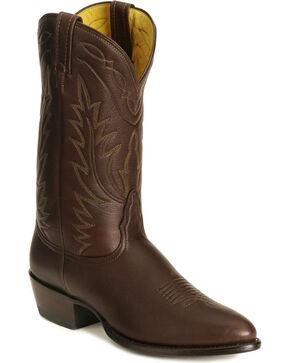 Nocona Deertan Cowboy Boots - Pointed Toe, Brown, hi-res