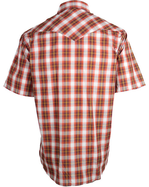 Pendleton Men's Plaid Short Sleeve Western Shirt, Rust Copper, hi-res