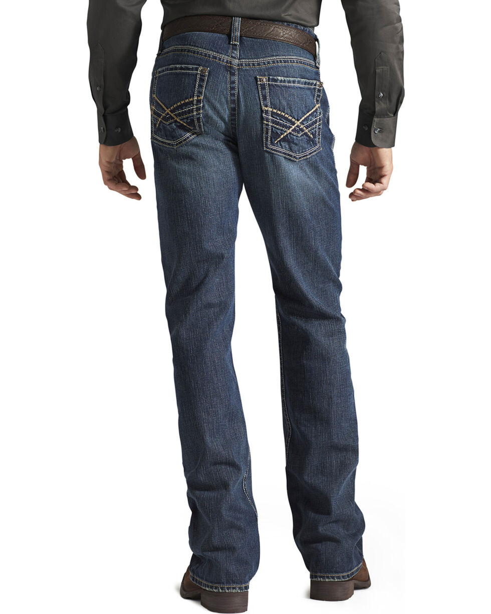 Ariat Denim Jeans - M4 Deadrun Relaxed Fit, Med Wash, hi-res