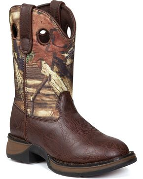 Durango Kid's Lil Partners Western Boots, Camouflage, hi-res