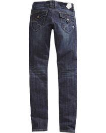 Tin Haul Women's Trixie Wave Stitch Skinny Jeans, , hi-res