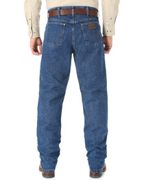 Wrangler Cool Vantage 47 Dark Stonewash Jeans - Regular Fit, , hi-res