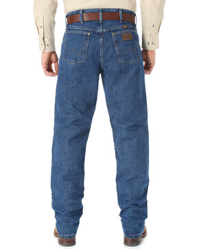 Wrangler Cool Vantage 47 Dark Stonewash Jeans - Regular Fit, Dark Stone, hi-res