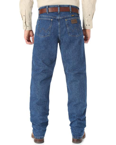 Wrangler Cool Vantage 47 Dark Stonewash Jeans - Regular Fit, Dark Stone, hi-res