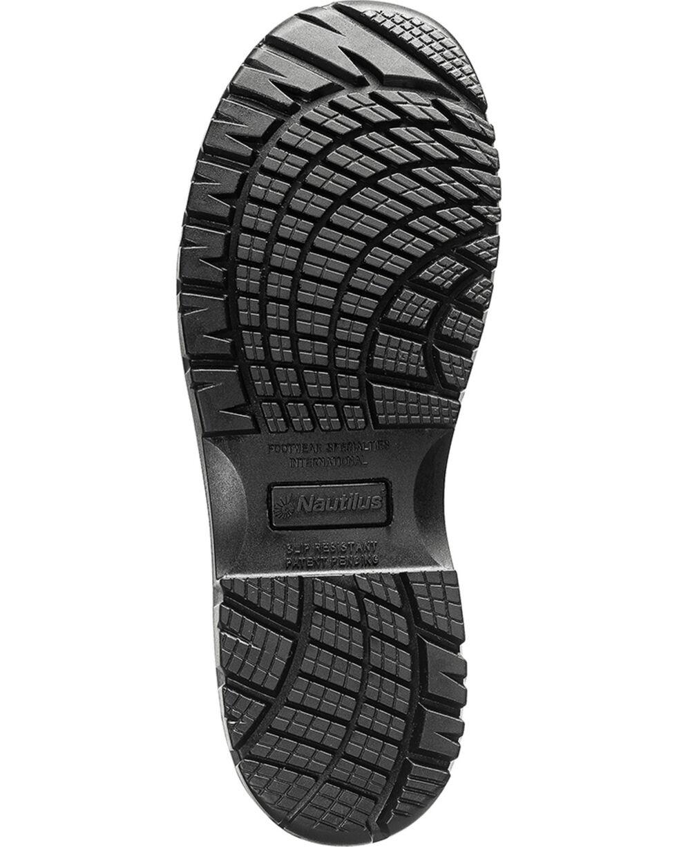 Nautilus Men's EH Comp Toe Slip Resistant Athletic Shoes, Blue, hi-res