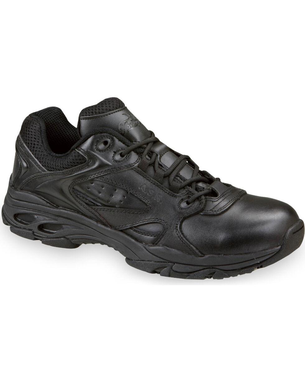 Thorogood Men's Ultra Light Tactical Oxfords - Soft Toe, Black, hi-res