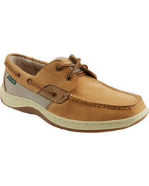 Eastland Men's Tan Solstice Boat Shoe Oxfords, , hi-res
