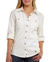 Carhartt Women's Minot Shirt, , hi-res