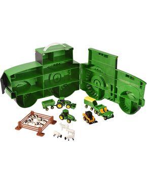 John Deere Tractor Case & Toys, Green, hi-res