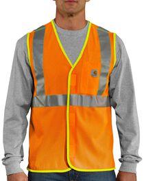 Carhartt Men's High Visibility Class 2 Vest, , hi-res
