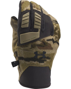 Under Armour Camo Speedfreak Wool Gloves , Camouflage, hi-res