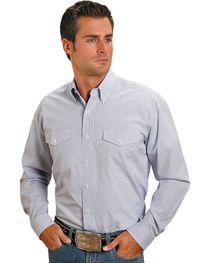 Stetson Plaid Check Button Shirt, , hi-res