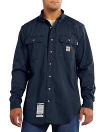 Carhartt Men's Long Sleeve FR Oakman Work Shirt, , hi-res
