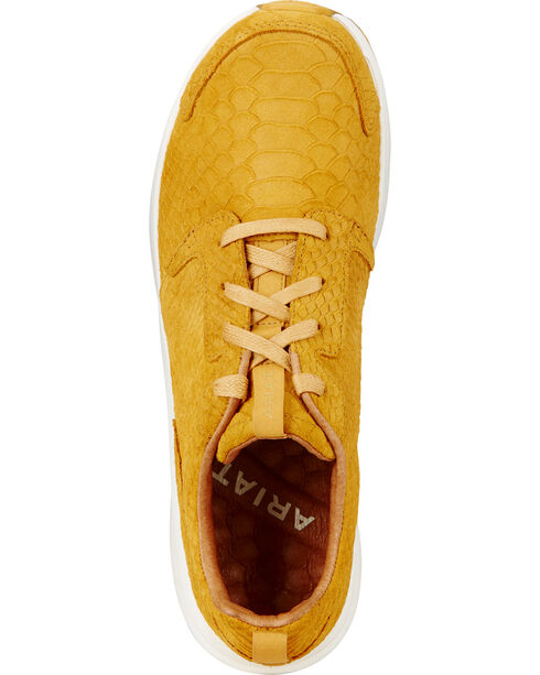 Ariat Women's Fiery Zilla Sneakers, Yellow, hi-res