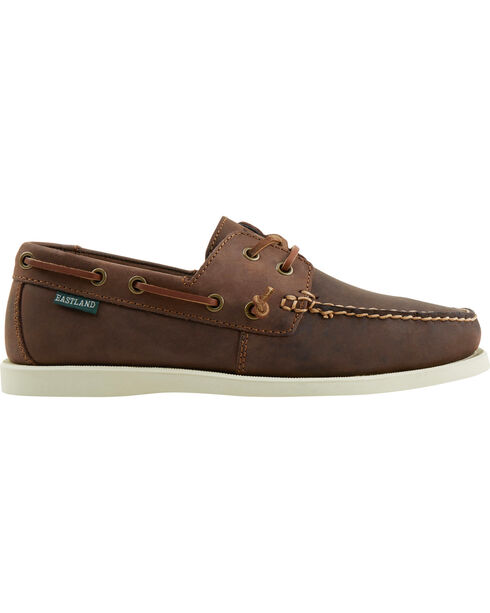Eastland Men's Freeport Boat Slip-On Shoes, Brown, hi-res