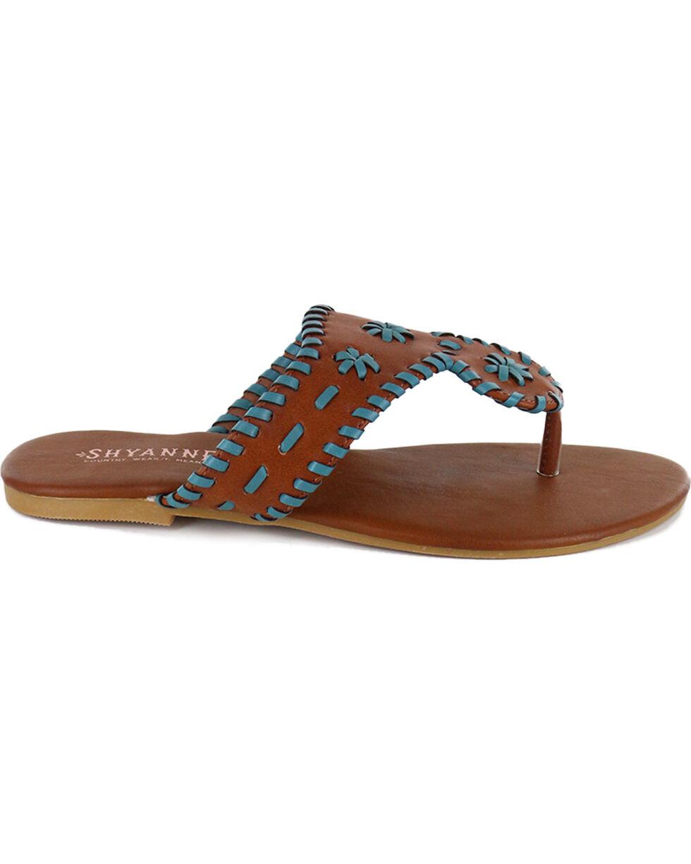 Shyanne® Women's Sedona Sandals, Brown, hi-res