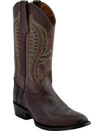 Ferrini Men's Lizard Belly Western Boots - Medium Toe , , hi-res