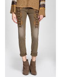 MM Vintage Brown Molly Boyfriend Jeans - Skinny Leg, , hi-res