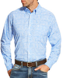 Ariat Men's Multi Orodell Print Long Sleeve Shirt , Multi, hi-res