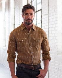 Ryan Michael Men's Earth Ikat Arrow Stripe Shirt , , hi-res