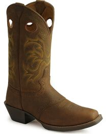 Justin Men's Stampede Punchy Western Boots, , hi-res