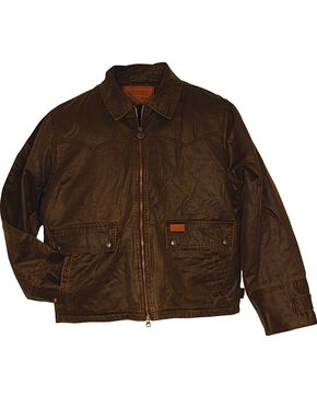Outback Trading Company Men's Landsmand Jacket, Brown, hi-res