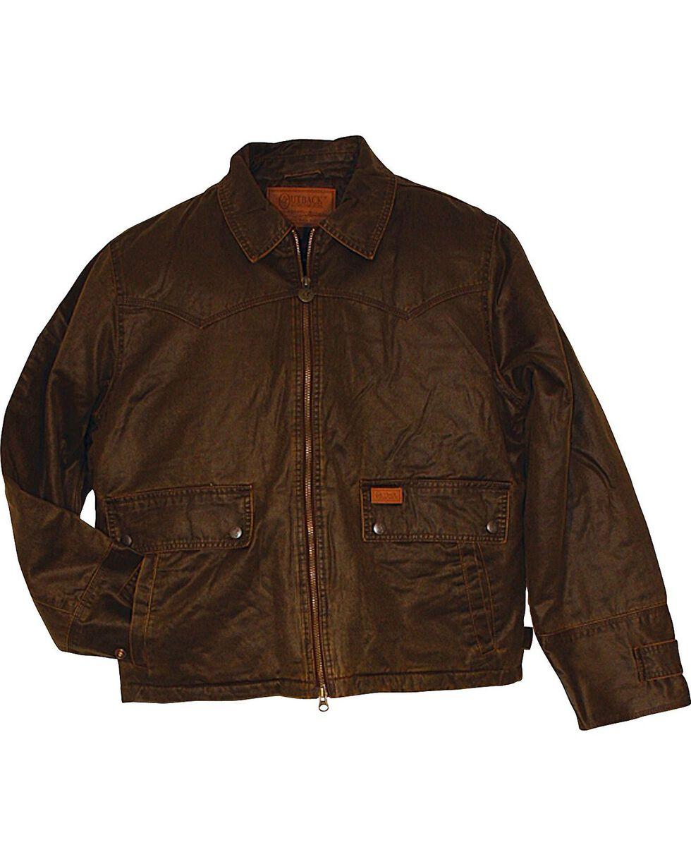 Outback Trading Company Men's Landsmand Jacket, Brown, hi-res