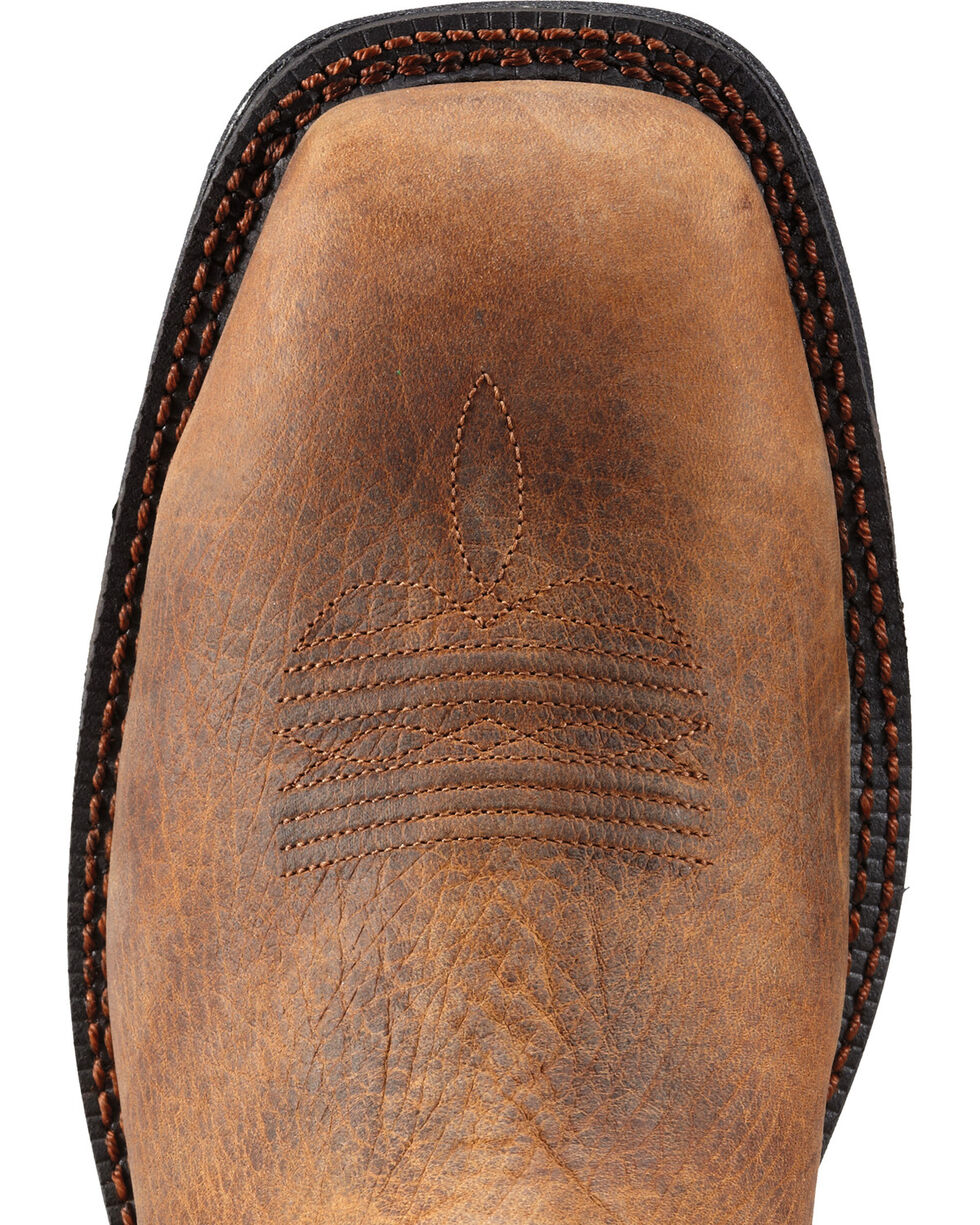 Ariat Men's Workhog Mesteno Comp Toe Western Work Boots, Earth, hi-res