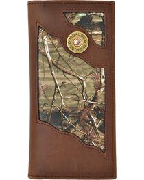 3D Men's Leather Shotgun Shell Checkbook Wallet, , hi-res
