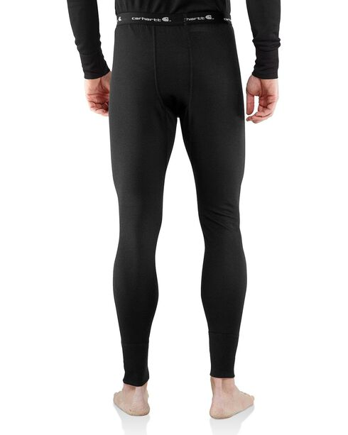 Carhartt Base Force Cold Weather Midweight Underwear, Black, hi-res