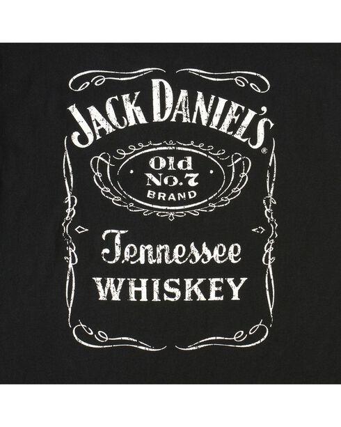 Jack Daniel's Men's Old No.7 Label T-Shirt, Black, hi-res