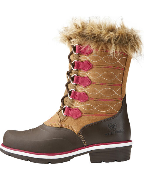Ariat Women's Whirlwind Frost H20 Fatbaby Boots , , hi-res