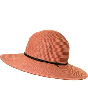 Peter Grimm Women's Mauve Coralia Sun Hat , Mauve, hi-res